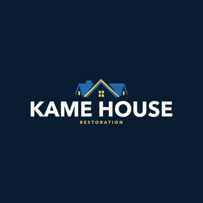 Logo Maker for Home Repair Contractors 1146a
