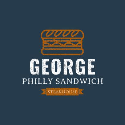 Sandwich Restaurant Logo Maker 1227e