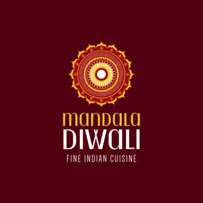 Indian Food Restaurant Logo Maker 1221c