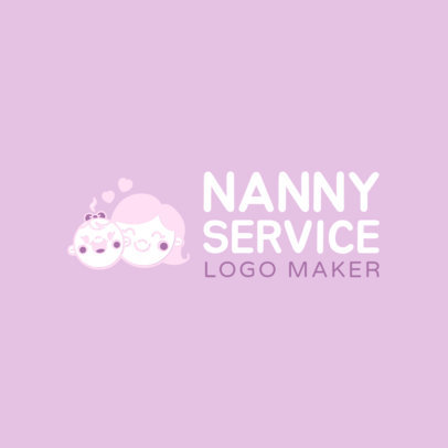 Nanny Services Logo Maker 1198b