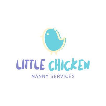 Babysitter Services Logo Maker 1198d