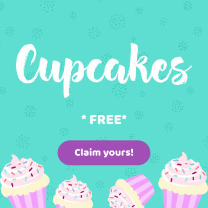Online Banner Maker for a Cupcake Shop 383