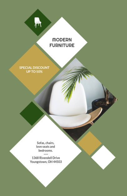 placeit flyer template to design interior design flyers