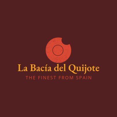 Spanish Restaurant Logo Maker 1223a