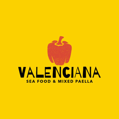 Restaurant Logo Maker for Paella Restaurants 1223d