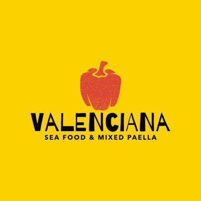 Restaurant Logo Maker for Paella Restaurants 1223d