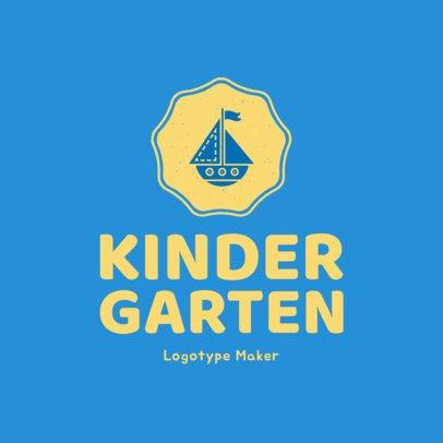 Kindergarten Logo Maker 1177e