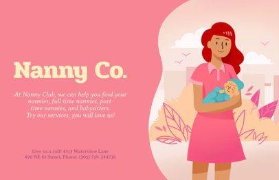 Online Flyer Maker for Nannies 315c