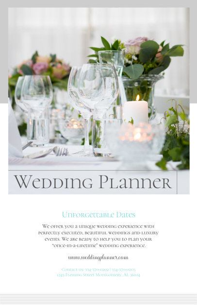 Flyer Maker for Wedding Planners 365