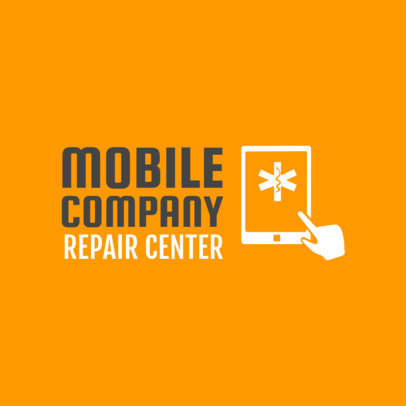 Cell Phone Repair Logo Template 1252b