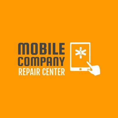 Cell Phone Repair Logo Template 1252b
