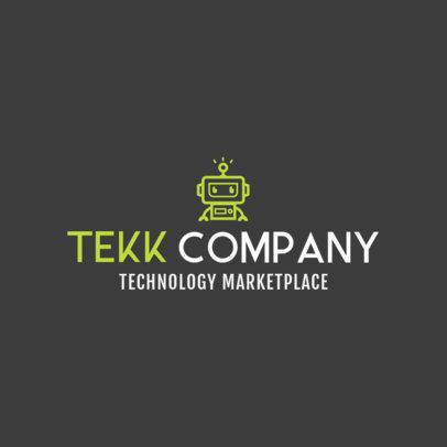 Online Logo Maker for Tech Stores 1252d
