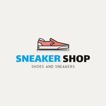 Sneaker Store Logo Maker 1261