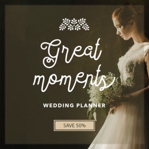 Banner Template for Wedding Designers 366c