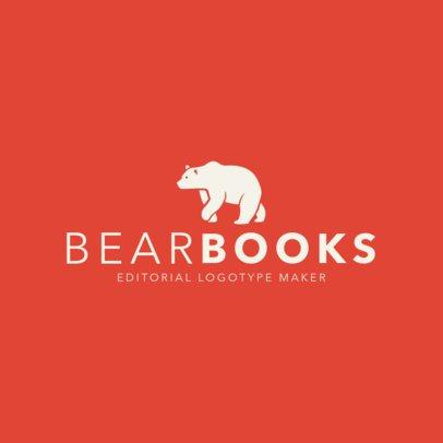Book Publishing Logo Maker 1265