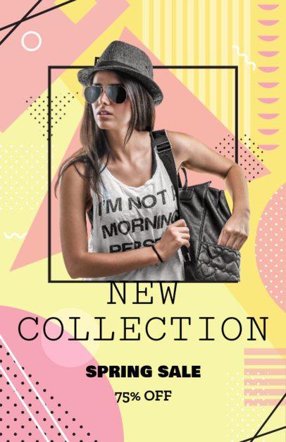 Online Flyer Maker for Clothing Store Sales 358c