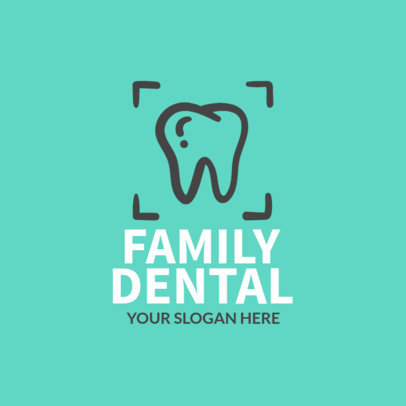 Pediatric Dentist Logo Maker 1026e