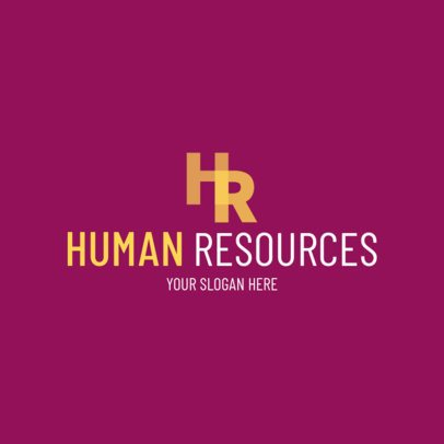 Human Resources Agencies Logo Maker 1212e