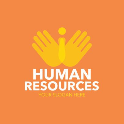 Human Resources Consulting Logo Maker 1212e