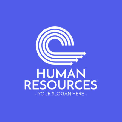 Online Logo Maker for HR Recruitment Agencies 1212e