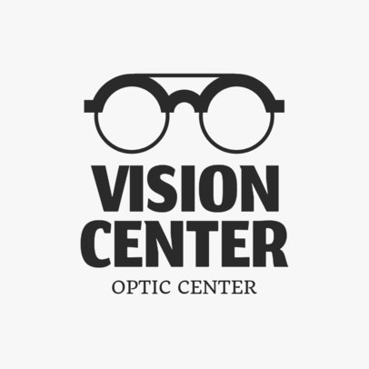 Optometrist Logo Maker 1256a