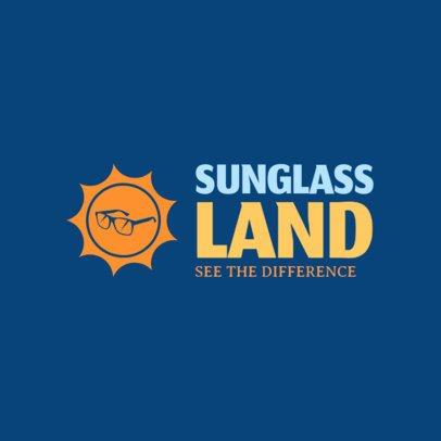 Online Logo Maker for Sunglasses Shops 1256d