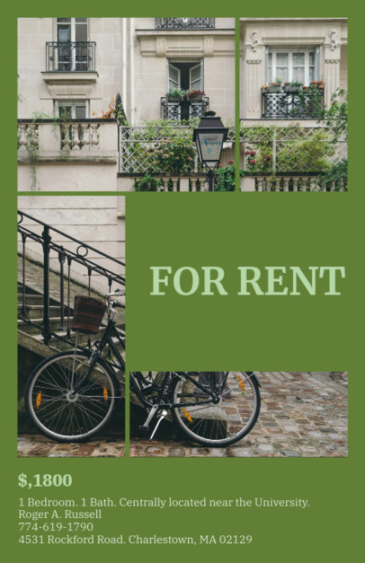 Online Flyer Maker for a Rental Property 156e