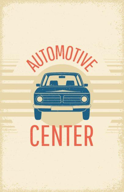 Flyer Maker for Auto Centers #267c