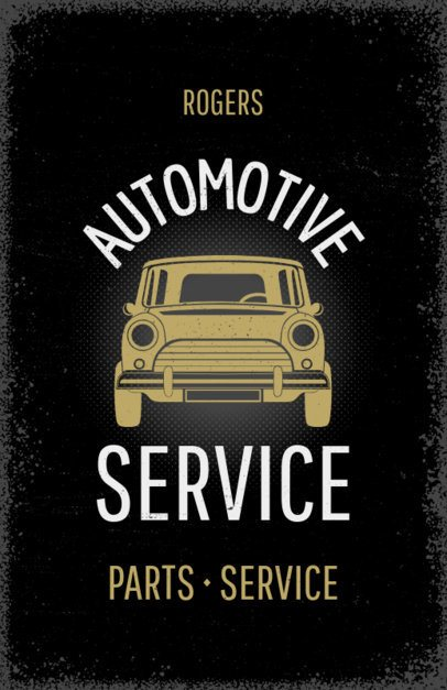Flyer Maker for Auto Service Centers #267e