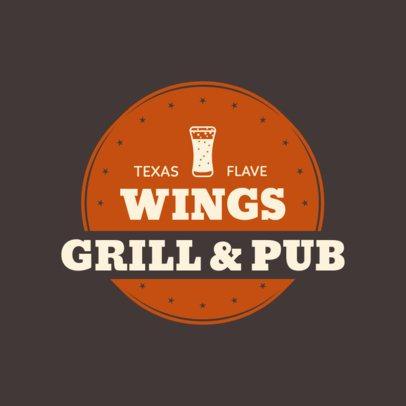 Restaurant Logo Maker for a Texas Grillhouse 1228d