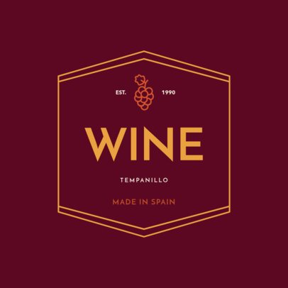 Custom Logo Maker for a Winery Business with Badges 1249e