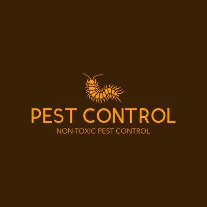 Pest Control Logo Maker 1254a