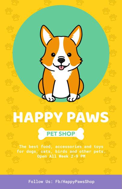 Pet Shop Flyer Maker 396
