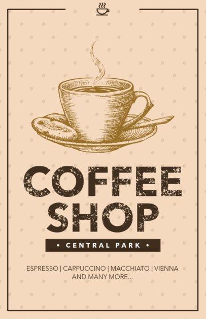 Online Flyer Maker for Coffee Shops 390