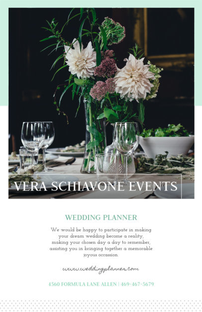Flyer Maker for Event Planners with Minimalistic Design 365b