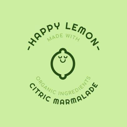 Jam Logo Maker for Lemon Jam 1287b