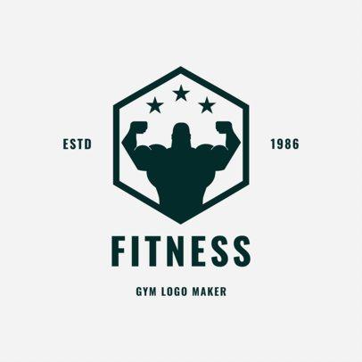 Gym Logo Maker for Fitness Centers 1272