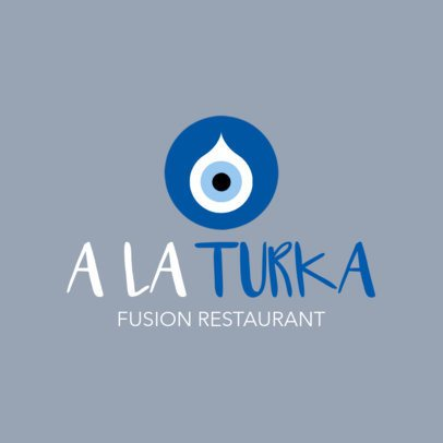 Restaurant Logo Maker for Fusion Restaurants 1224c