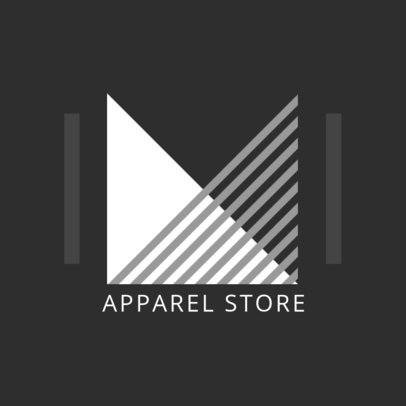 Online Logo Templates with 90s Style for Apparel 1290d