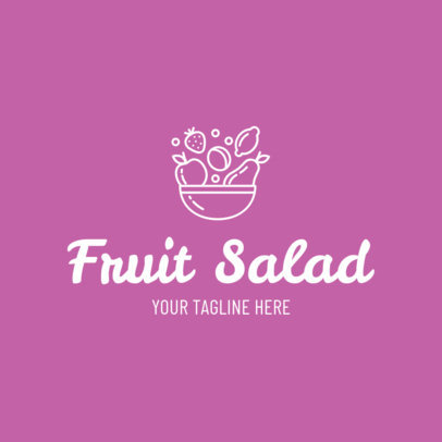 Custom Logo Maker for Salad Restaurants 1267b