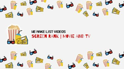 YouTube Banner Maker for Film Reviewers 395b