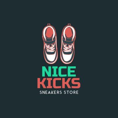Custom Logo Maker for Sneaker Stores 1261b