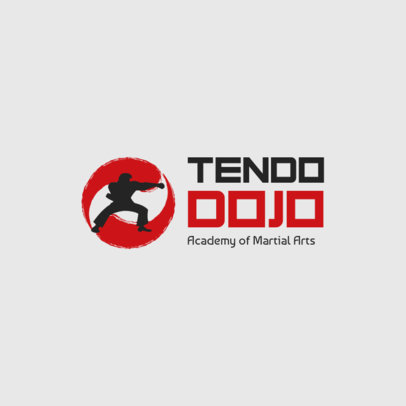 Fitness Logo Maker for Martial Arts Academies 1292