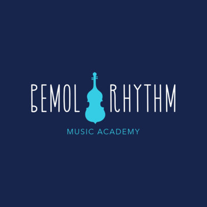 Logo Maker for Music Academies 1291