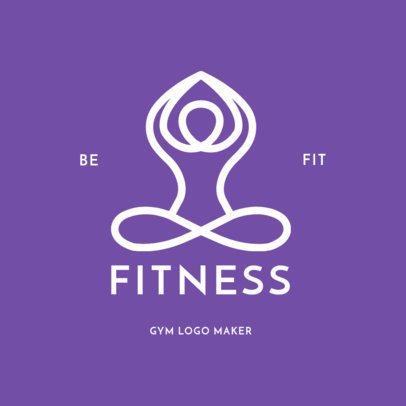 Logo Maker for Yoga Studios 1272e
