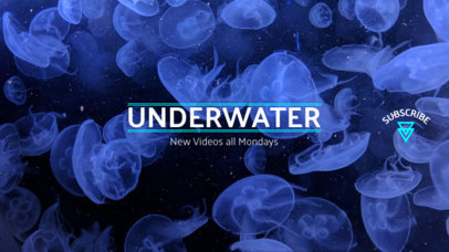 Youtube Banner Maker for Sea Animals Channel 418c