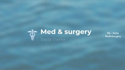 YouTube Banner Maker for Medical Videos 403e