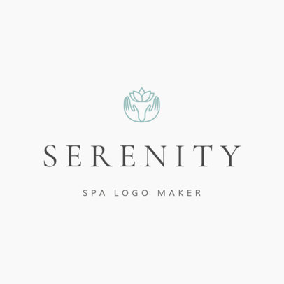 Spa Logo Maker 1293