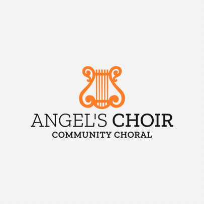 Music Logo Maker for Choirs 1308