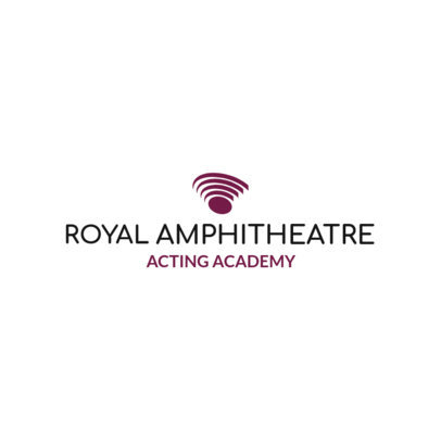 Custom Logo Maker for Acting Schools with Abstract Shapes 1301b